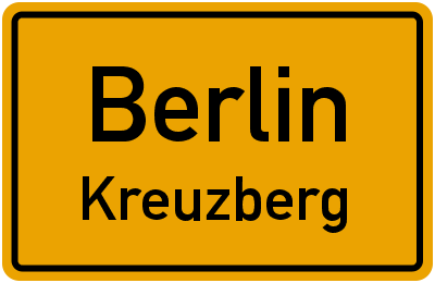 Straßenverzeichnis Berlin Kreuzberg