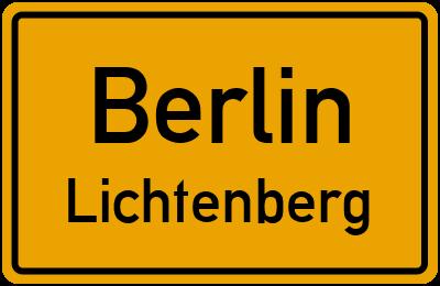 Straßenverzeichnis Berlin Lichtenberg
