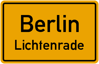 Straßenverzeichnis Berlin Lichtenrade
