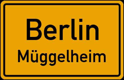 Ortsschild Berlin Müggelheim