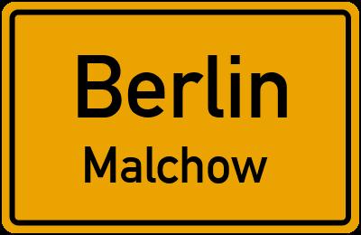 Straßenverzeichnis Berlin Malchow