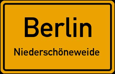 Straßenverzeichnis Berlin Niederschöneweide