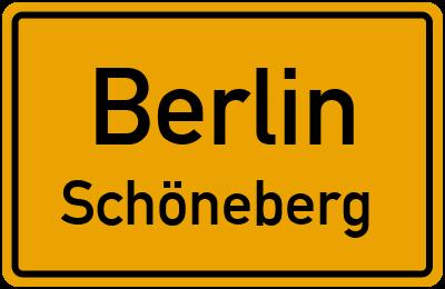 Straßenverzeichnis Berlin Schöneberg