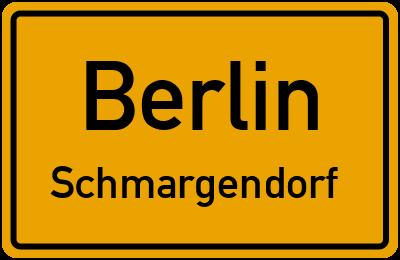 Straßenverzeichnis Berlin Schmargendorf