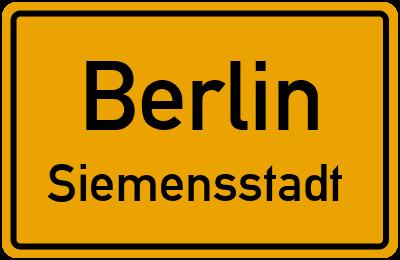 Straßenverzeichnis Berlin Siemensstadt