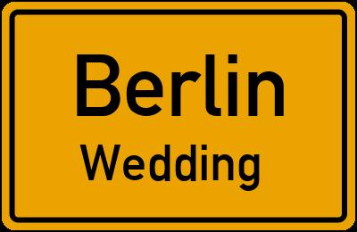 Straßenverzeichnis Berlin Wedding