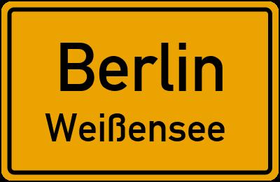 Straßenverzeichnis Berlin Weißensee