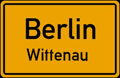 Straßenverzeichnis Berlin Wittenau