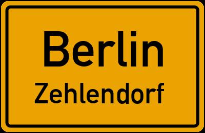 Straßenverzeichnis Berlin Zehlendorf