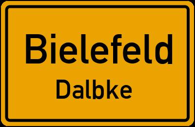 Ortsschild Bielefeld Dalbke