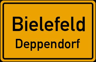 Ortsschild Bielefeld Deppendorf
