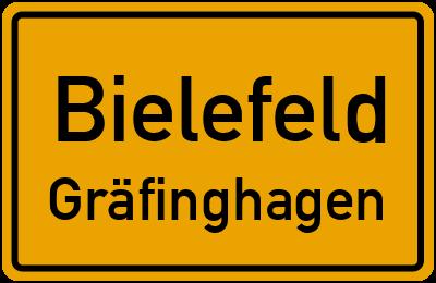 Ortsschild Bielefeld Gräfinghagen