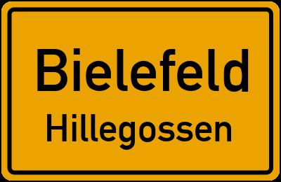 Ortsschild Bielefeld Hillegossen