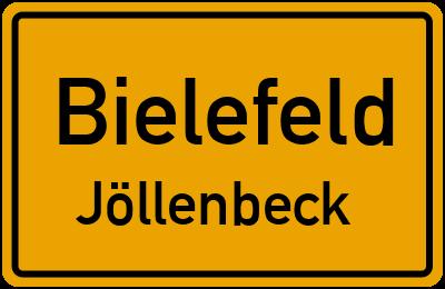 Ortsschild Bielefeld Jöllenbeck
