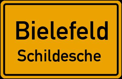 Ortsschild Bielefeld Schildesche