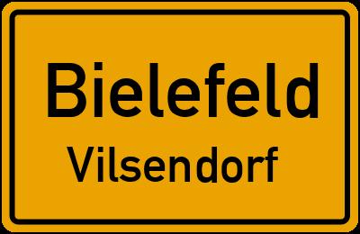 Ortsschild Bielefeld Vilsendorf