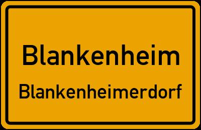 Straßenverzeichnis Blankenheim Blankenheimerdorf
