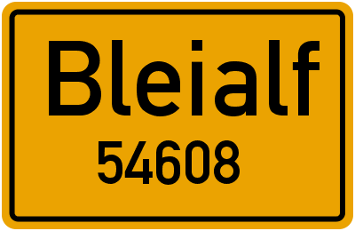 54608 Bleialf