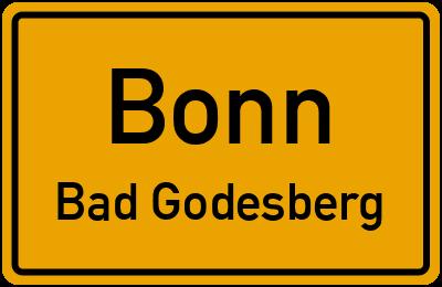 Straßenverzeichnis Bonn Bad Godesberg