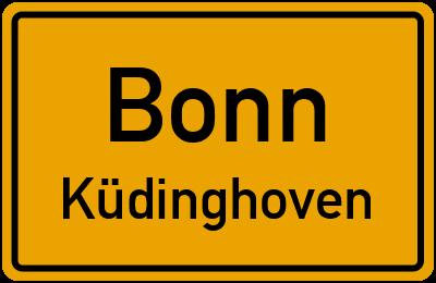 Straßenverzeichnis Bonn Küdinghoven