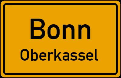 Straßenverzeichnis Bonn Oberkassel