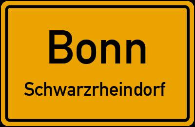 Straßenverzeichnis Bonn Schwarzrheindorf