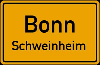 Straßenverzeichnis Bonn Schweinheim