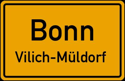 Straßenverzeichnis Bonn Vilich-Müldorf