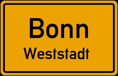 Straßenverzeichnis Bonn Weststadt
