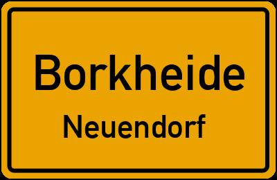 Am Finkenhain in BorkheideNeuendorf