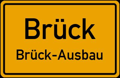 Beelitzer Straße in BrückBrück-Ausbau