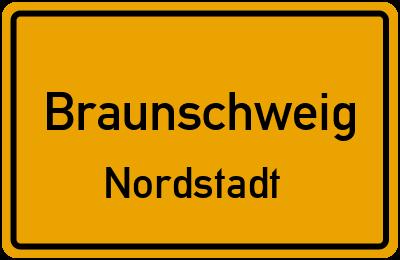 Ortsschild Braunschweig Nordstadt