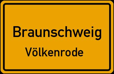 Ortsschild Braunschweig Völkenrode