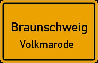 Ortsschild Braunschweig Volkmarode