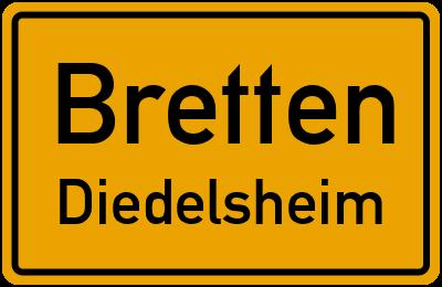Seestraße in BrettenDiedelsheim