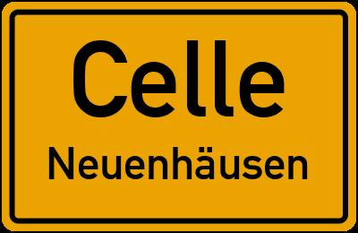 Ortsschild Celle Neuenhäusen