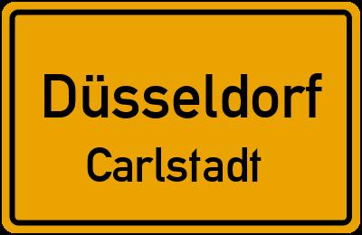 Straßenverzeichnis Düsseldorf Carlstadt