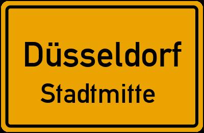 Straßenverzeichnis Düsseldorf Stadtmitte