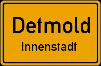 Straßenverzeichnis Detmold Innenstadt