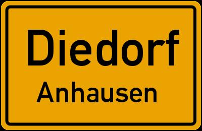 Ringstraße in DiedorfAnhausen