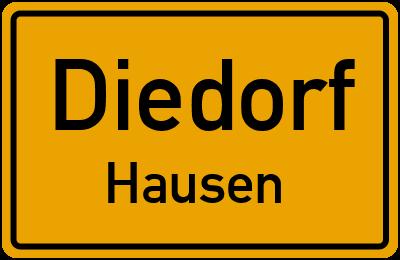 Rosenhaldenweg in DiedorfHausen