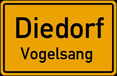 Forstweg in DiedorfVogelsang