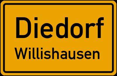 Dörleweg in DiedorfWillishausen