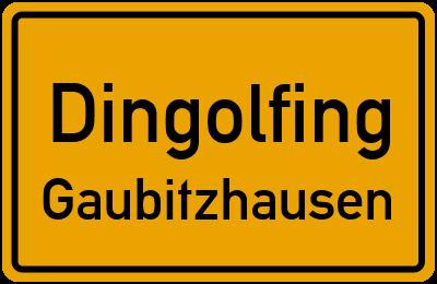 Straßenverzeichnis Dingolfing Gaubitzhausen