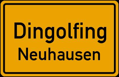 Straßenverzeichnis Dingolfing Neuhausen