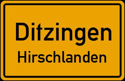 Amselweg in DitzingenHirschlanden