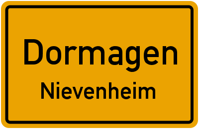 Forsthausstraße in DormagenNievenheim