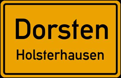 Dorsten Holsterhausen Stra Enverzeichnis Stra En In