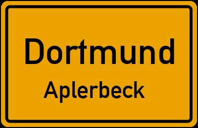 Trauermantelweg in DortmundAplerbeck