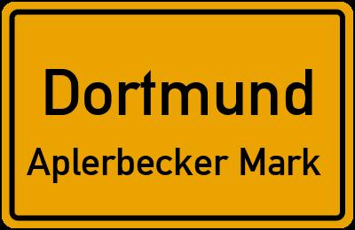 Straßenverzeichnis Dortmund Aplerbecker Mark